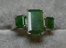 Smaragd ring 006