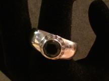Svart diamant ring 016