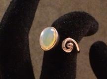 Opal ring 018
