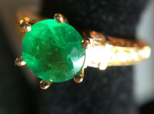 Smaragd ring 024