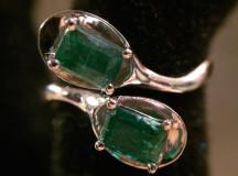 Smaragd ring 025
