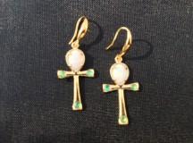 Opal smaragd örhängen 1